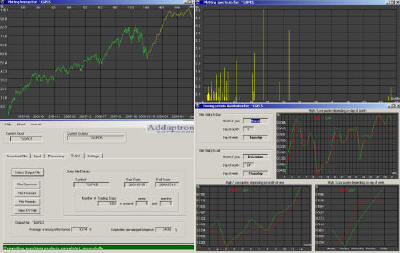 Stock Market Analyzer-Predictor SMAP-3 interfaces